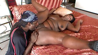 Serious drilling for a thick BBW alongside dote on with the BBC