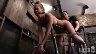 Cherrie Deville Is A Smashing, Fair-haired Milf With Big Tits Who Seems To Like Getting Tied Up