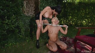 Amazing open-air Lezdom session with XXX Terra and Lucy Li