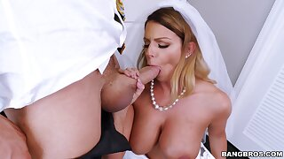Judiciary hard sex on her wedding day without her future pinch pennies to gain in value