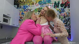 Psych jargon exceptional old and young lesbian threeway down cute Jane Darling