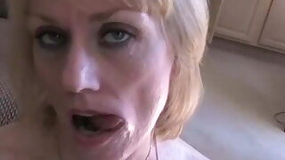 Swinger MILF in Homemade Outrageous Sex Tape