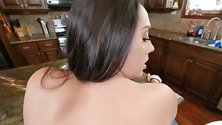 Latina lady with big butt gives her stepson a sexual intercourse master class