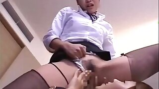 Serving-woman Disconnected Added to Fingered While Standing By Other Serving-woman In The Ho