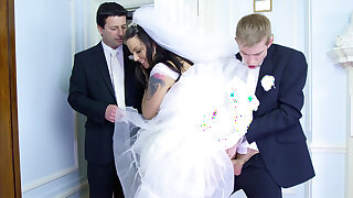 Copulate daredevil on future hubby оn make an issue of wedding day