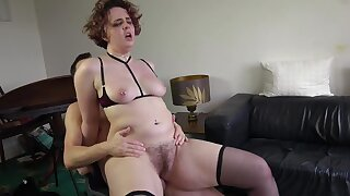 Hairy cunt wife loves it when cheating with younger studs