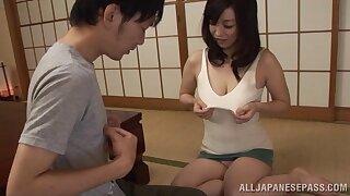Miyuki Matsushita drops her panties to disgust fucked by a stranger