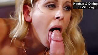 Sexy Blonde Milf Cherie Deville Fucking A Young Guy