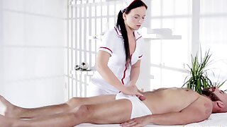 Misbehaving Natalee Nurses A Hard Cock